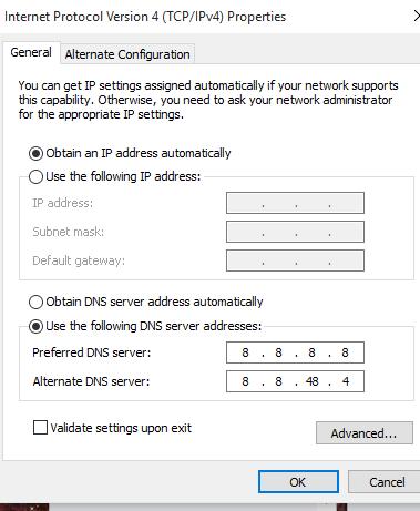 Me anë të Google DNS Facebook punon më mirë